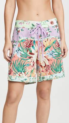 FARM Rio Mix Flower Print Boardshorts