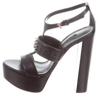 Ruthie Davis Stud-Embellished Platform Sandals shop for sale cheap big sale discount fake buy cheap great deals sale clearance lp9pdpMe