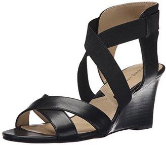 Adrienne Vittadini Footwear Women's Raenie Wedge Sandal $30.95 thestylecure.com