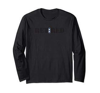 US Coast Guard CWO4 Retired Long Sleeve Shirt