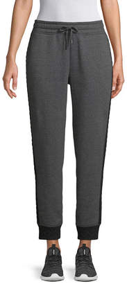 ST. JOHN'S BAY SJB ACTIVE Active Quilted Fleece Jogger Pants