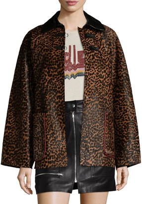 Isabel Marant Elder Leather Coat