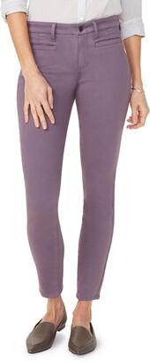 NYDJ Ami Welt Pocket Colored Skinny Jeans