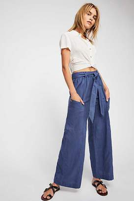 Bluebell Belted Wide Leg Pants