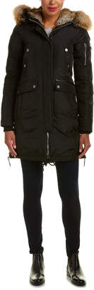 Brera Nicole Benisti Leather-Trim Jacket