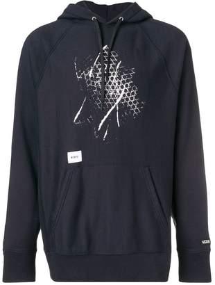 Vans contrast-print hoodie