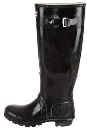 Hunter Rubber Knee-High Rain Boots