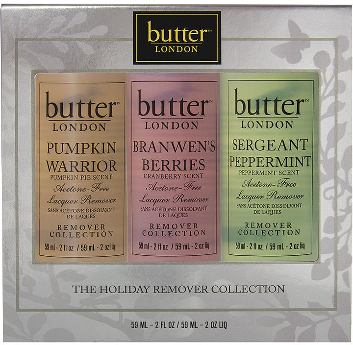Butter London Holiday Remover Trio 1 set