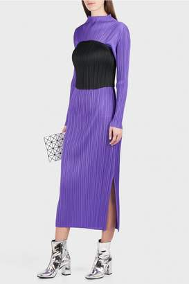 Pleats Please Issey Miyake Monthly Colors Midi Dress