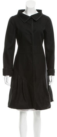 Miu Miu Miu Miu Deconstructed Wool Coat