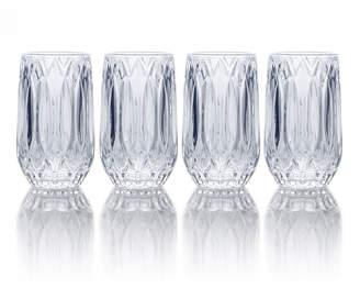 Mikasa Set of 4 Highball Glasses