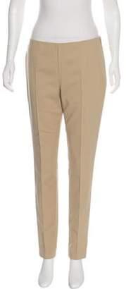 Akris Mid-Rise Skinny Pants Beige Mid-Rise Skinny Pants