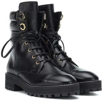 Stuart Weitzman Lexy leather ankle boots