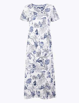 Marks and Spencer Cotton Modal Cool comfort Shell Nightdress