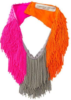 Mignonne Gavigan Le Marcel Colorblock Scarf Necklace