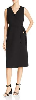 Lafayette 148 New York Pammie Sleeveless Wrap Dress