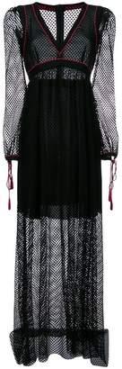 Philosophy di Lorenzo Serafini long flared dress