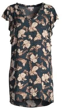 Splendid Women's Ramo Floral Shift Dress - Navy - Size XS