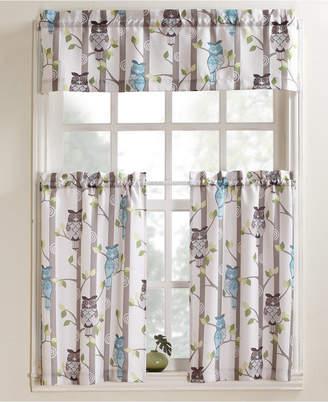 """Lichtenberg No. 918 Hoot 56"""" x 36"""" Pair of Tier Curtains"""