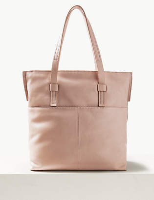 M&S CollectionMarks and Spencer Leather Tote Bag