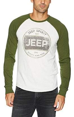 Lucky Brand Men's Jeep Spirit Stamp Graphic Tee