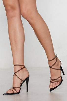 Nasty Gal In the Clear Heel
