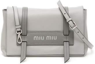 1af616cd942d Miu Miu Leather Bag - ShopStyle UK