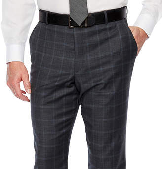 STAFFORD Stafford Checked Classic Fit Stretch Suit Pants