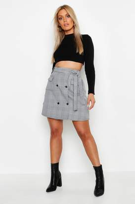 608e86d2744d Buttoned Through Mini Skirt - ShopStyle UK