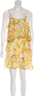Lovers + Friends Chiffon Sleeveless Midi Dress