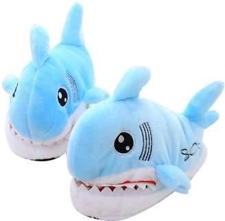 Equipment ZENICHAM Winter Warm Cotton Shark Anti-slip House Slippers Shoes