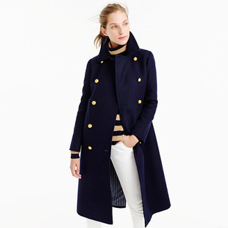 Double-breasted topcoat in wool-cashmere $395 thestylecure.com