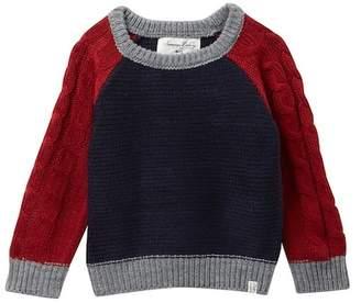 Sovereign Code Stark Colorblock Sweater (Baby Boys)