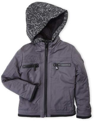 Urban Republic Boys 4-7) Ballistic Knit Hood Jacket