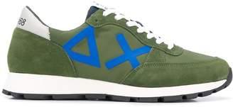 Sun 68 panelled runner sneakers