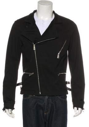 John Richmond Woven Moto Jacket