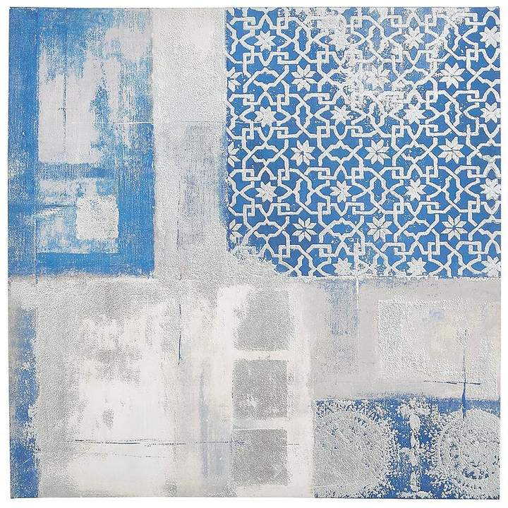 Ideal Home Blue Abstract Wall Art