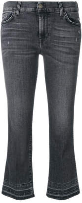 7 For All Mankind cropped slim fit jeans