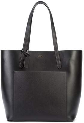 Smythson patch pocket shopper toe