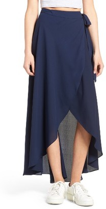 Women's Soprano High/low Wrap Skirt $49 thestylecure.com