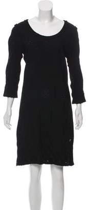Chanel Long Sleeve Mini Dress