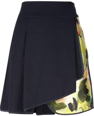 Harvey Faircloth pleated floral skirt
