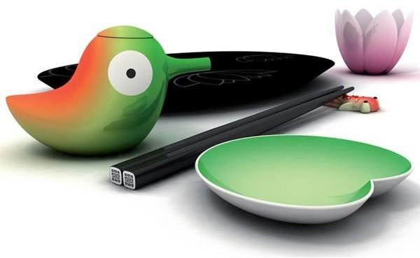 Alessi - OrienTales lily pond collection by stefano giovannoni for alessi
