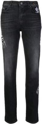 Karl Lagerfeld space girlfriend jeans