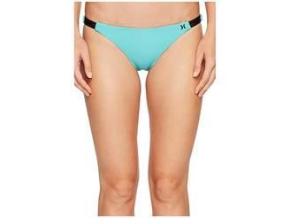 Hurley Quick Dry Cheeky Bottom Women's Swimwear