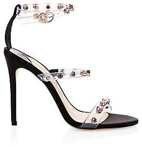 ab744a90 Sophia Webster Black Stiletto Heel Women's Sandals - ShopStyle