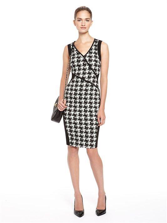 DKNY Cross Front Dress