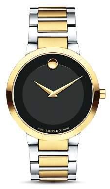 Movado Modern Classic Two Tone Watch, 39.2mm