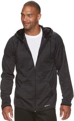 Tek Gear Big & Tall WarmTek Athletic-Fit Space-Dyed Performance Fleece Full-Zip Hoodie