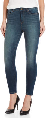 William Rast Sculpted High-Rise Ankle Jeans